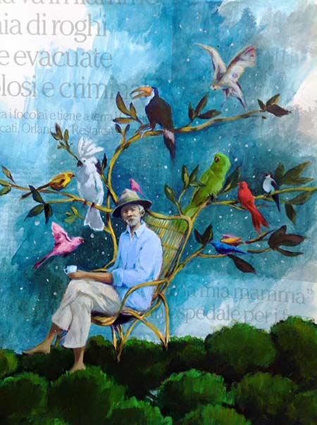 Littérature jeunesse - Homme et oiseaux