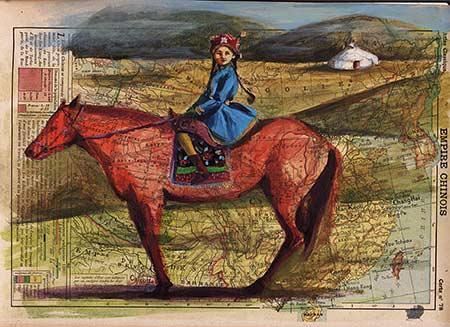Atlas Mongolie à cheval