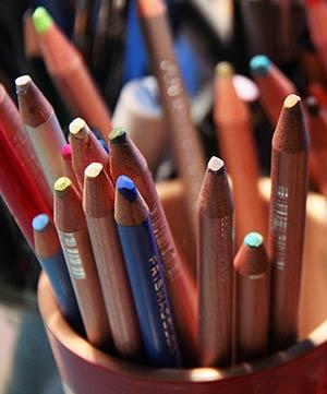 Crayons de couleurs - Nathalie Novi