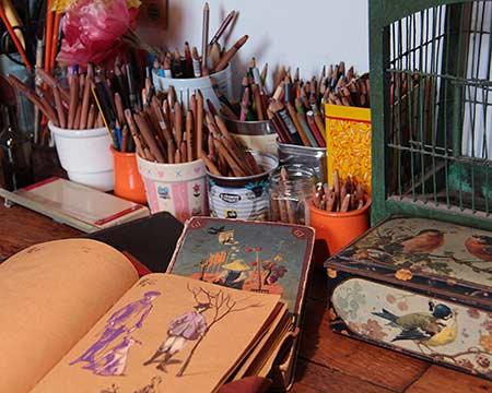 Carnets de dessins - Atelier