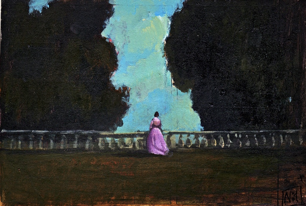 Georgiana Darcy aimait peindre la nature