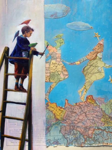 Peindre un Atlas - Peinture sur atlas