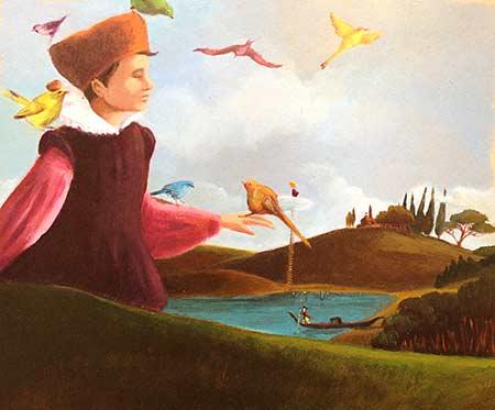 Littérature jeunesse - Garçon et oiseaux